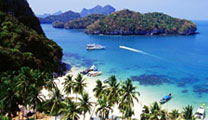 Book cheap flights to Surat Thani