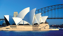 Travel to Sydney with cheapest airfare and visit Sydney Opera House