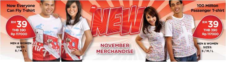 AirAsia Merchandise November Special