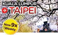 Kuala Lumpur - Taipei