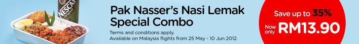 Pak Nasser's Nasi Lemak Special Combo