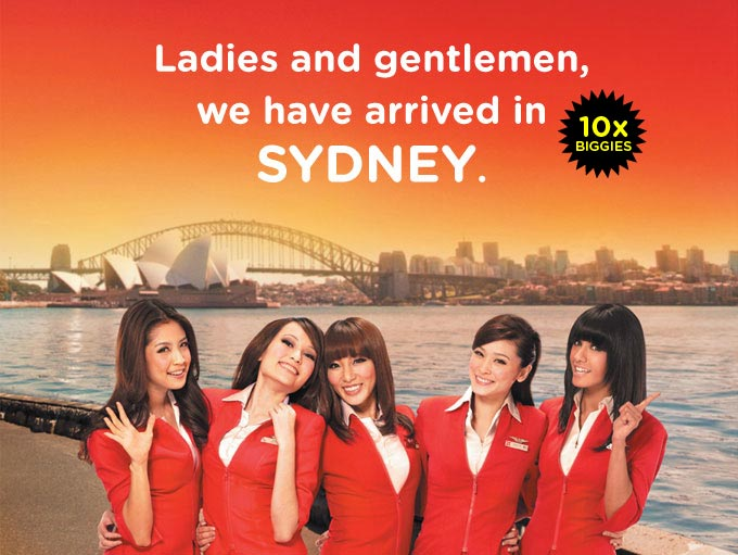 We have arrived in Sydney!